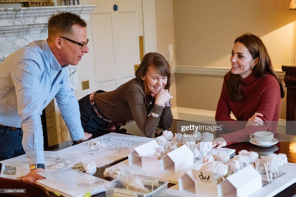 Duchess of Cambridge RHS Chelsea Flower Show Garden : News Photo