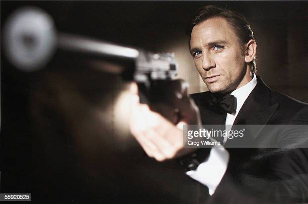 In this undated handout photo from Eon Productions actor Daniel Craig poses as James Bond Craig was unveiled as legendary British secret agent James...