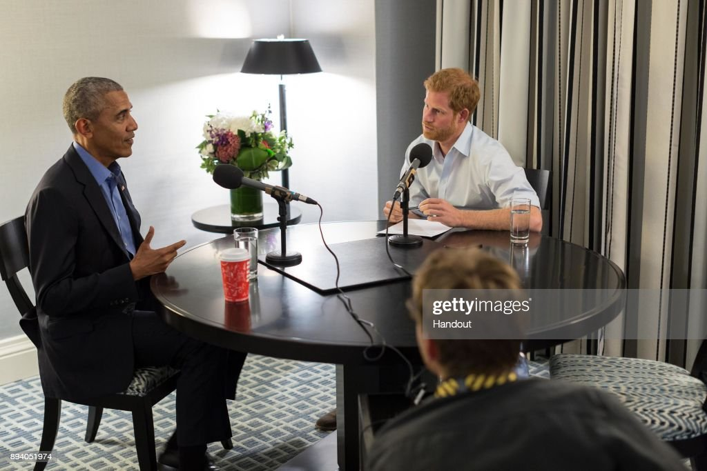 Prince Harry Interviews Barack Obama For His BBC Radio 4 Today Guest Editorship