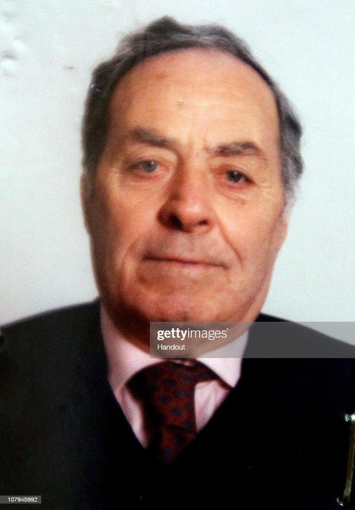 In this undated handout photo supplied on January 9, 2011 by Polizia di Stato, Angelo Cavarretta one of the victims of the Italian killer Carlo Trabona is pictured. Carlo Trabona, a 74-year-old retired bricklayer, has shot dead two of his neighbours and then killed his wife, before shooting himself after being surrounded by the Police in Genoa. Police suspect Jealousy, over alleged infidelity by Trabona's wife, was the motive for the murders.