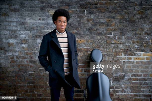 In this undated handout supplied by Kensington Palace, cellist Sheku Kanneh-Mason, who will be performing at the wedding of Prince Harry and Meghan...