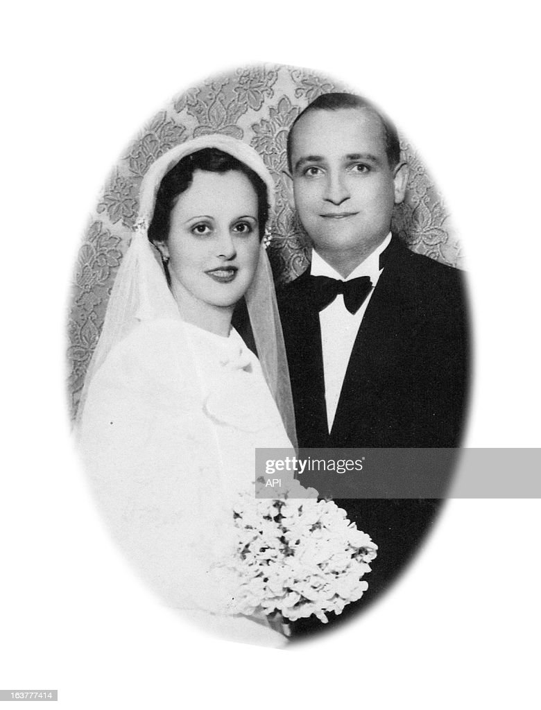 In this undated photo Cardinal Jorge Mario Bergoglio's mother Regina Maria Sivori and father Mario Jose Francisco on their wedding day.