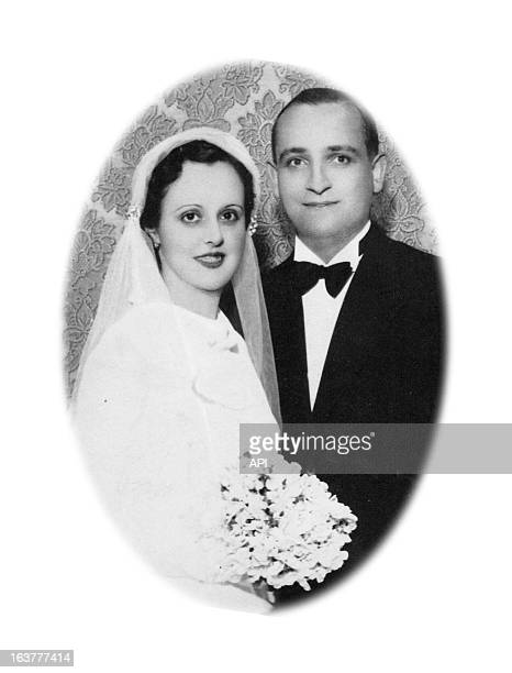 In this undated photo Cardinal Jorge Mario Bergoglio's mother Regina Maria Sivori and father Mario Jose Francisco on their wedding day