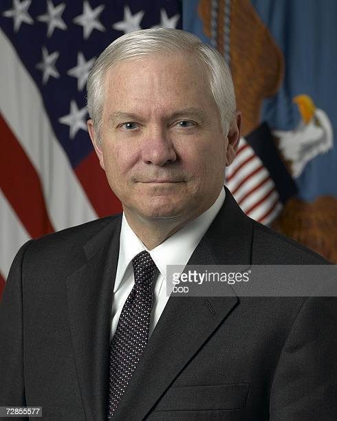 In this undated US Department of Defense handout photo newly appointed US Defense Secretary Robert Gates poses for a photograph