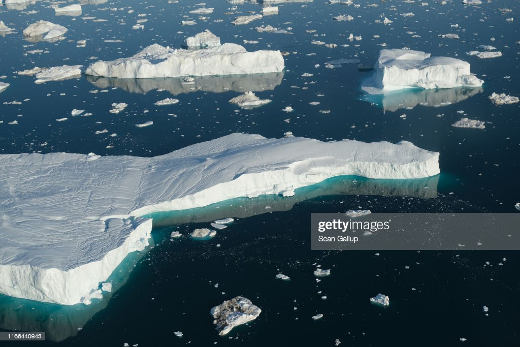 Western Greenland Hit By Unseasonably Warm Weather : News Photo