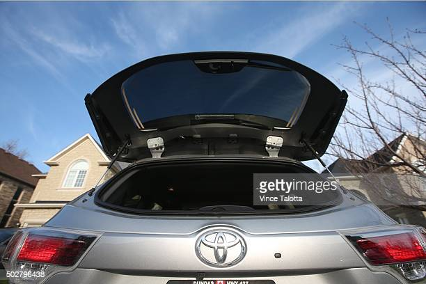 TORONTO ON DECEMBER 5 in Toronto on December 5 2015 Interior and exterior pictures of Christina Ritchie's Toyota Highlander