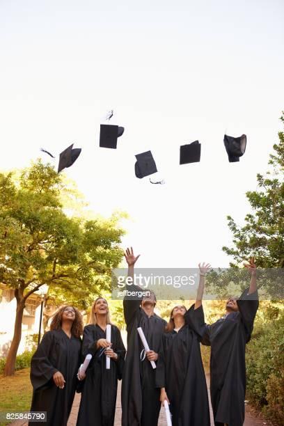 In true graduation day tradition