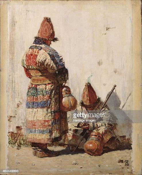 In Turkestan 1870s Found in the collection of the Regional K Savitsky Art Gallery Pensa