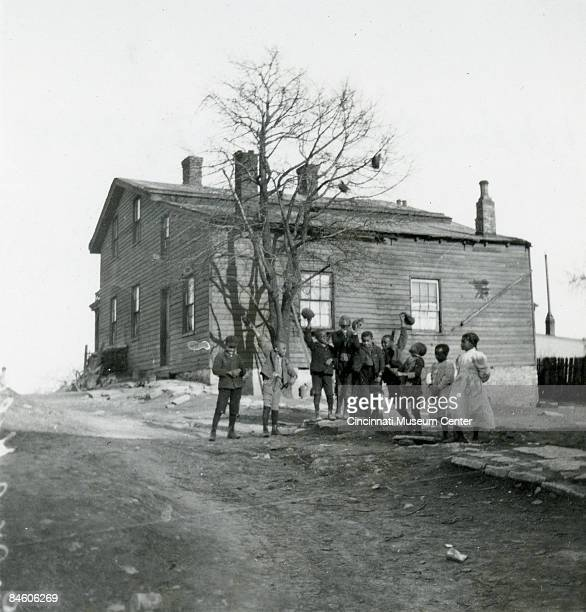 In Walnut Hills is pictured the home of the American Quaker and abolitionist Levi Coffin Located in Cincinnati it functioned as a stop on the...