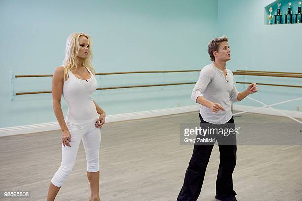 STARS In week four of Dancing with the Stars the remaining couples return to the stage MONDAY APRIL 12 on the ABC Television Network PAMELA