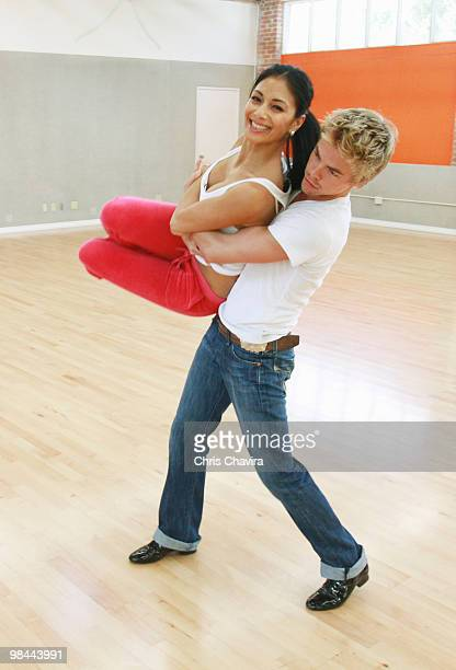 STARS In week three of Dancing with the Stars the remaining couples return to the stage MONDAY APRIL 5 on the Walt Disney Television via Getty Images...