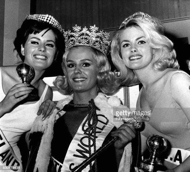 In what turned out to be a 'model's final', Miss United Kingdom, Lesley Langley was placed first as the new Miss World, Miss USA, Dianna Lynn Batts...