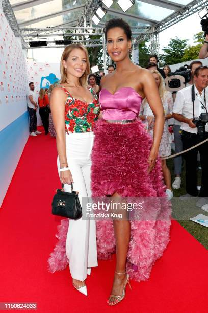 Ina Aogo and Marie Amiere during the Raffaello Summer Day on June 18 2019 in Berlin Germany
