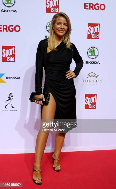Ina Aogo attends the Sport Bild Award 2019 at the Fischauktionshalle on August 19 2019 in Hamburg Germany