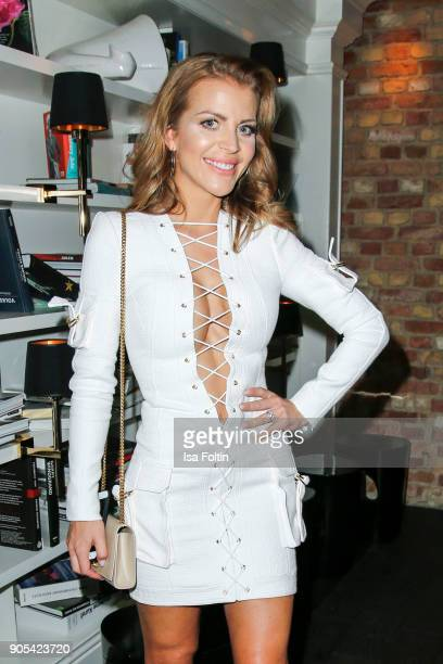 Ina Aogo during the Bunte New Faces Night at Grace Hotel Zoo on January 15 2018 in Berlin Germany