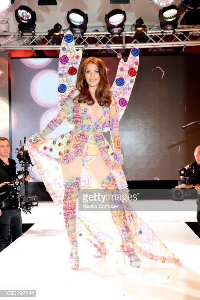 Ina Aogo during the Rockin' Chocolate Lambertz Monday Night 2019 fashion show on January 28 2019 in Cologne Germany
