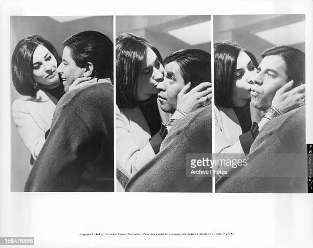Ina Balin And Jerry Lewis engage in a battle of the sexes which lasts three rounds in a scene from the film 'The Patsy' 1964