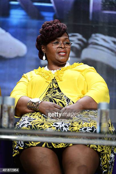 Ina Carter speaks onstage for the Ovation TV's 'Young Marvels' panel of the 2014 Summer Television Critics Association at The Beverly Hilton Hotel on...