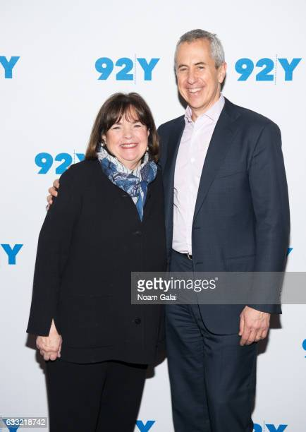 Ina Garten and Danny Meyer attend Ina Garten in conversation with Danny Meyer at 92nd Street Y on January 31 2017 in New York City