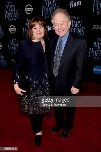 Ina Garten and Jeffrey Garten attend Disney's 'Mary Poppins Returns' World Premiere at the Dolby Theatre on November 29 2018 in Hollywood California