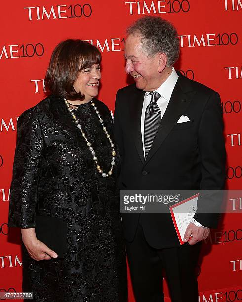 Ina Garten and Jeffrey Garten attend the 2015 Time 100 Gala at Frederick P Rose Hall Jazz at Lincoln Center on April 21 2015 in New York City