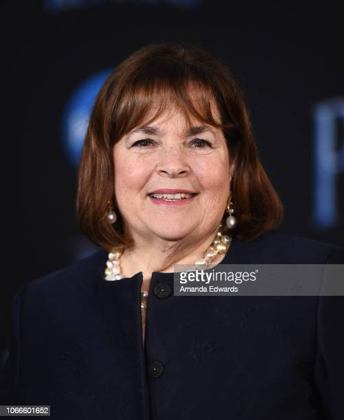 Ina Garten arrives at the premiere of Disney's Mary Poppins Returns at the El Capitan Theatre on November 29 2018 in Los Angeles California