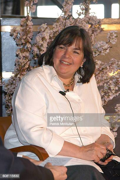 Ina Garten attends GOD'S LOVE WE DELIVER Hosts Authors in Kind Literary Luncheon'' at Rainbow Room on April 17 2007 in New York City