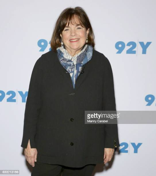 Ina Garten attends Ina Garten in Conversation with Danny Meyer at 92nd Street Y on January 31 2017 in New York City