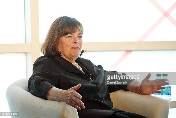 Ina Garten attends the 2015 Forbes Women's Summit Transforming The Rules Of Engagement at Pier 60 on June 10 2015 in New York City