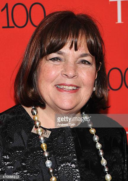 Ina Garten attends the 2015 Time 100 Gala at Frederick P Rose Hall Jazz at Lincoln Center on April 21 2015 in New York City
