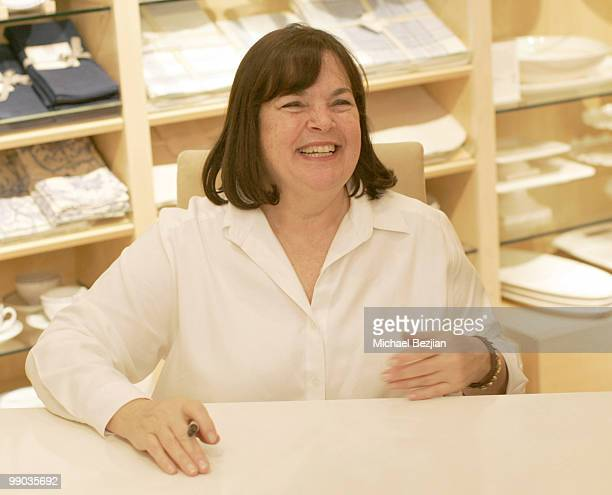 "Ina Garten attends ""The Barefoot Contessa"" Book Signing At William Sonoma on November 14, 2008 in Santa Monica, California."