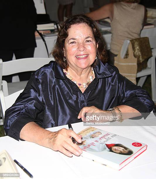 Ina Garten attends the East Hampton Library's 12th Annual Authors Night Benefit on August 13 2016 in East Hampton New York