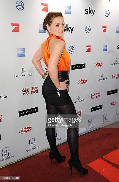 Ina Menzer attends Movie meets Media at the Hotel Atlantic on December 9 2011 in Hamburg Germany
