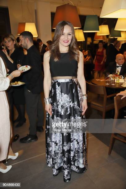 Ina Menzer attends the 'Ahoi 2018 The special kind of New Year's Reception on January 13 2018 in Hamburg Germany