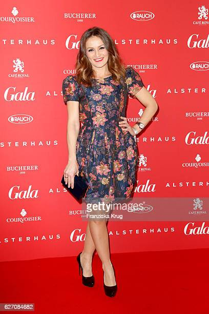 Ina Menzer attends the GALA Christmas Shopping Night 2016 at Alsterhaus on December 1 2016 in Hamburg Germany