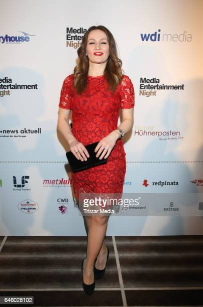 Ina Menzer attends the Media Entertainment Night at the West Hotel Elbphilharmonie on February 27 2017 in Hamburg Germany