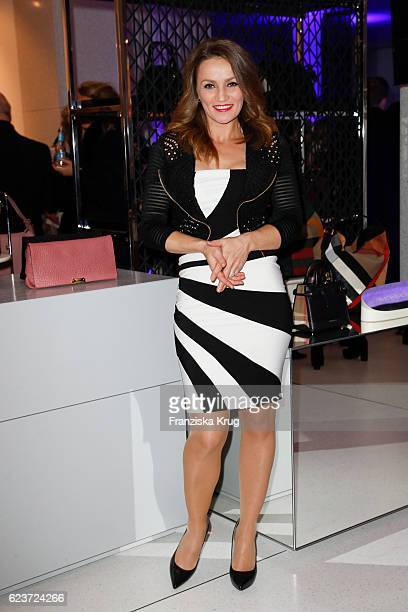 Ina Menzer attends the new Luxury Hall Opening of the Alsterhaus on November 16 2016 in Hamburg Germany
