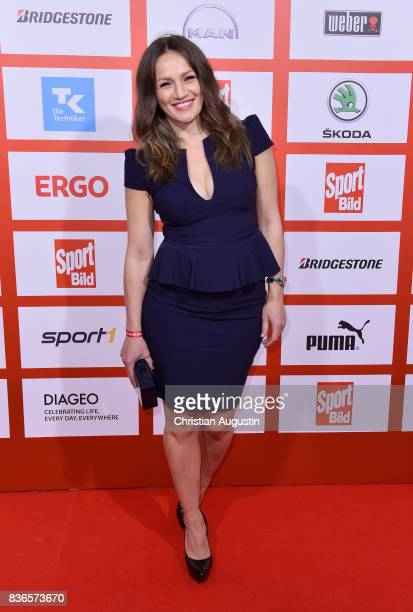 Ina Menzer attends the Sport Bild Award at the Fischauktionshalle on August 21 2017 in Hamburg Germany