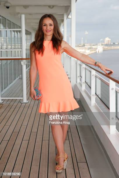 Ina Menzer during the FASHION2NIGHT event on board the EUROPA 2 on August 17 2018 in Hamburg Germany