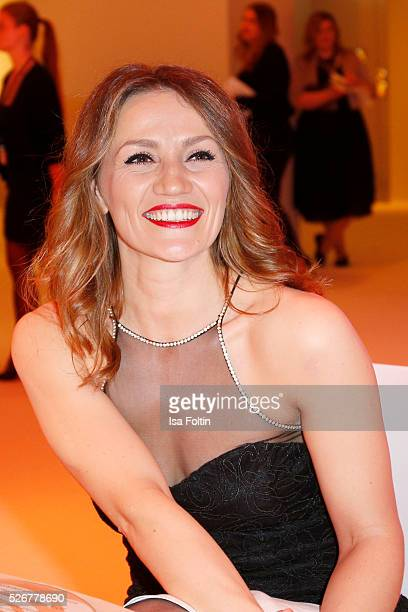 Ina Menzer during the Rosenball 2016 on April 30 2016 in Berlin Germany