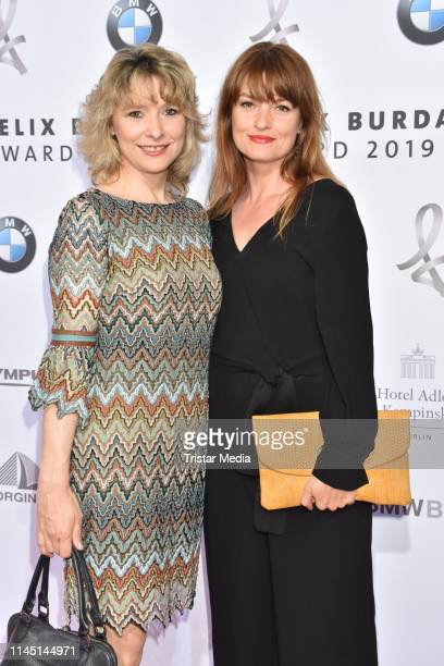 Ina Paule Klink and her sister Alexandra Mohr attend the 17th Felix Burda Award at Hotel Adlon Kempinski on May 19 2019 in Berlin Germany