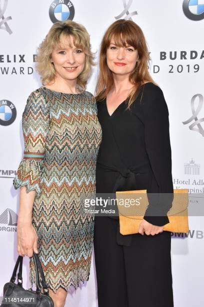 Ina Paule Klink and her sister Alexandra Mohr attend the 17th Felix Burda Award at Hotel Adlon Kempinski on May 19 2019 in Berlin Germany