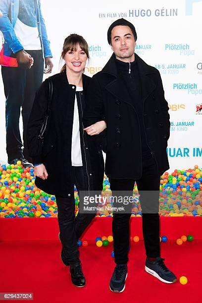 Ina Paule Klink and Nikolai Kinski attend the German premiere of the film 'Ploetzlich Papa' at Zoo Palast on December 12 2016 in Berlin Germany