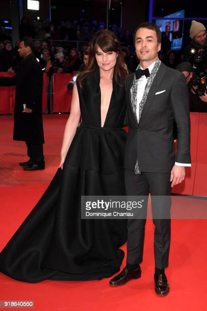 Ina Paule Klink and Nikolai Kinski attend the Opening Ceremony & 'Isle of Dogs' premiere during the 68th Berlinale International Film Festival Berlin...