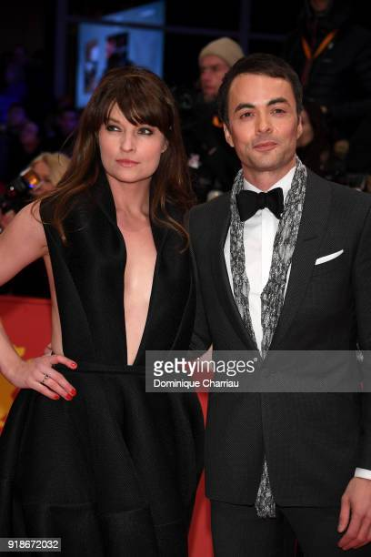 Ina Paule Klink and Nikolai Kinski attend the Opening Ceremony 'Isle of Dogs' premiere during the 68th Berlinale International Film Festival Berlin...