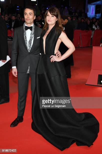 Ina Paule Klink and Nikolai Kinski attends the Opening Ceremony 'Isle of Dogs' premiere during the 68th Berlinale International Film Festival Berlin...