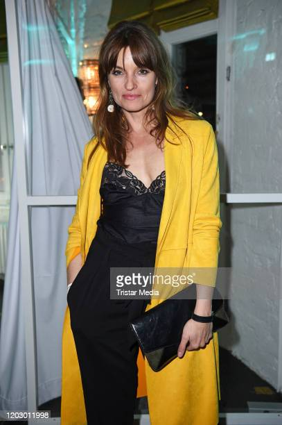 Ina Paule Klink at the Bavaria Fiction Cocktail during the 70th Berlinale International Film Festival Berlin at Soho House on February 24 2020 in...