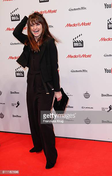 Ina Paule Klink attends the 99FireFilmAward 2016 at Admiralspalast on February 18 2016 in Berlin Germany