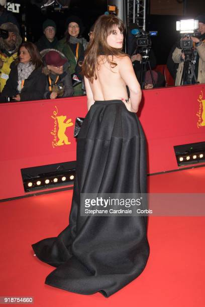 Ina Paule Klink attends the Opening Ceremony 'Isle of Dogs' premiere during the 68th Berlinale International Film Festival Berlin at Berlinale Palace...