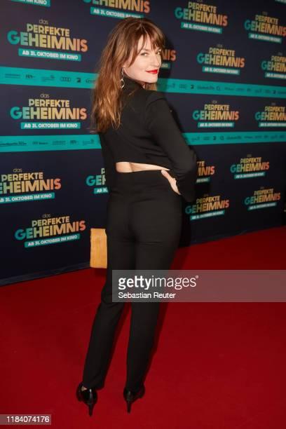Ina Paule Klink attends the premiere of Das perfekte Geheimnis on October 28 2019 in Berlin Germany